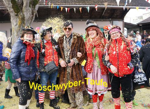 Wöschwyber-Taufe